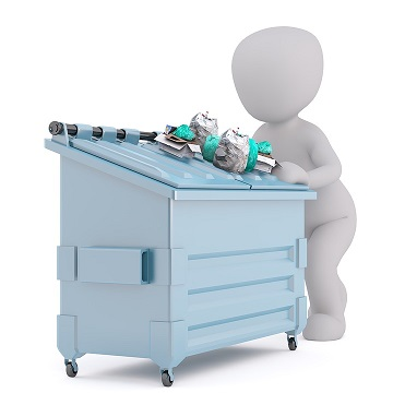 Plastic Recycling Bins Exclusion List