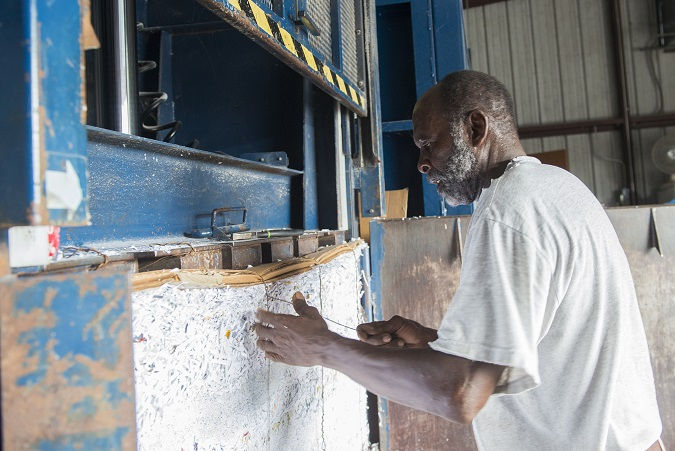 Plastic Bottle Recycling To Make Cloth