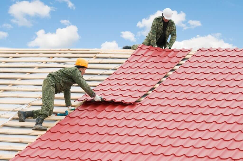 Recycled Plastic Roof Tiles