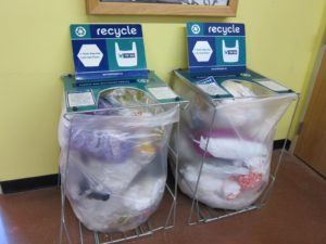 Recycling Plastic Shopping Bags